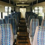 International 3200 32 passenger charter shuttle coach bus for sale - Diesel 10