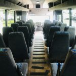 International 3200 32 passenger charter shuttle coach bus for sale - Diesel 11