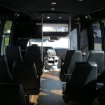 Ford E450 21 passenger charter shuttle coach bus for sale - Gas 8
