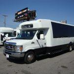 Ford E450 21 passenger charter shuttle coach bus for sale - Gas 3