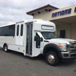 Ford F550 29 passenger charter shuttle coach bus for sale - Gas 1