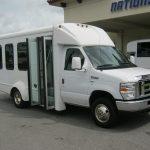 Ford E450 14 passenger charter shuttle coach bus for sale - Gas 1