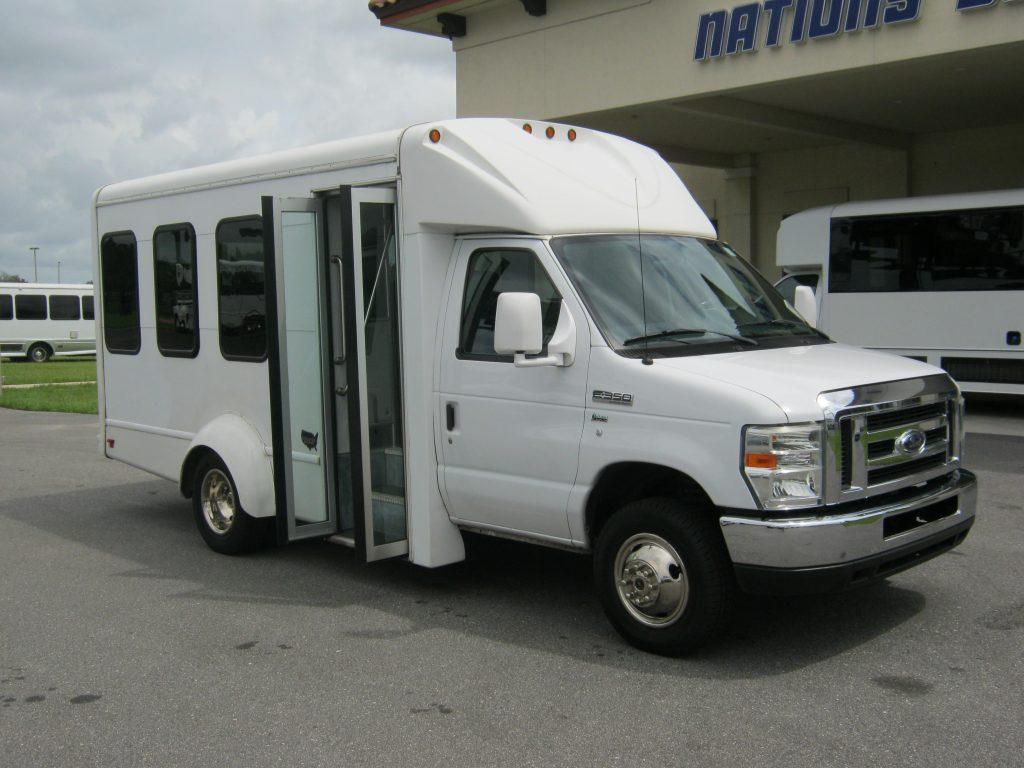 Ford E450 14 passenger charter shuttle coach bus for sale - Gas