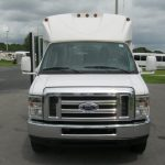 Ford E450 14 passenger charter shuttle coach bus for sale - Gas 2