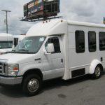 Ford E450 14 passenger charter shuttle coach bus for sale - Gas 3