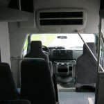 Ford E450 14 passenger charter shuttle coach bus for sale - Gas 8