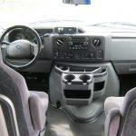 Ford E450 14 passenger charter shuttle coach bus for sale - Gas 7