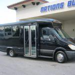 Mercedes Benz 12 passenger charter shuttle coach bus for sale - Diesel 1
