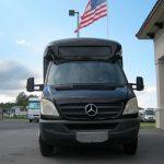 Mercedes Benz 12 passenger charter shuttle coach bus for sale - Diesel 2
