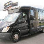 Mercedes Benz 12 passenger charter shuttle coach bus for sale - Diesel 3