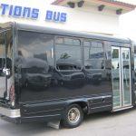 Mercedes Benz 12 passenger charter shuttle coach bus for sale - Diesel 6