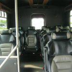 Mercedes Benz 12 passenger charter shuttle coach bus for sale - Diesel 7