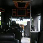 Mercedes Benz 12 passenger charter shuttle coach bus for sale - Diesel 8