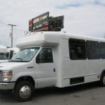 Ford E450 16 passenger charter shuttle coach bus for sale - Gas 3