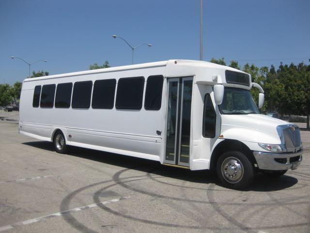 International 41 passenger charter shuttle coach bus for sale - Diesel