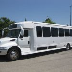 International 41 passenger charter shuttle coach bus for sale - Diesel 2