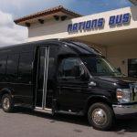 Ford E350 13 passenger charter shuttle coach bus for sale - Gas 1