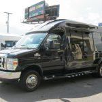 Ford E350 13 passenger charter shuttle coach bus for sale - Gas 3