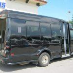 Ford E350 13 passenger charter shuttle coach bus for sale - Gas 5