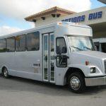 Freightliner 33 passenger charter shuttle coach bus for sale - Diesel 1
