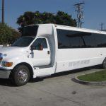 Ford F650 42 passenger charter shuttle coach bus for sale - Diesel 3