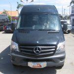 Mercedes 2500 14 passenger charter shuttle coach bus for sale - Diesel 2