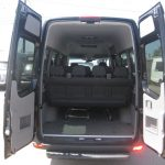 Mercedes 2500 14 passenger charter shuttle coach bus for sale - Diesel 5
