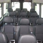 Mercedes 2500 14 passenger charter shuttle coach bus for sale - Diesel 6