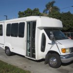 Ford E450 12 passenger charter shuttle coach bus for sale - 1
