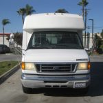 Ford E450 12 passenger charter shuttle coach bus for sale - 2