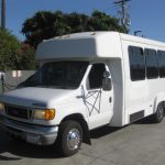 Ford E450 12 passenger charter shuttle coach bus for sale - 3