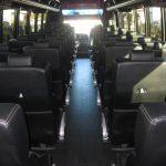 Freightliner M2 40 passenger charter shuttle coach bus for sale - Diesel 6