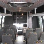 Ford F550 31 passenger charter shuttle coach bus for sale - Diesel 6