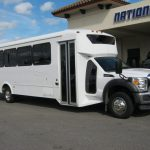 Ford F550 32 passenger charter shuttle coach bus for sale - Diesel 1