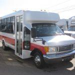 Ford E450 18 passenger charter shuttle coach bus for sale - Gas 1