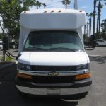 Chevy C3500 14 passenger charter shuttle coach bus for sale - Gas 2