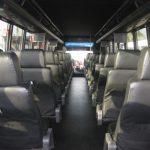 Freightliner M2 48 passenger charter shuttle coach bus for sale - Diesel 6