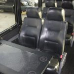 Freightliner M2 48 passenger charter shuttle coach bus for sale - Diesel 7