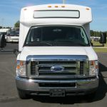 Ford E450 25 passenger charter shuttle coach bus for sale - Gas 2