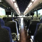 MCI 57 passenger charter shuttle coach bus for sale - Diesel 6