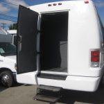 Ford F550 28 passenger charter shuttle coach bus for sale - Diesel 5