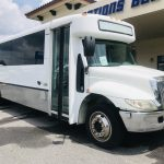 International 3200 33 passenger charter shuttle coach bus for sale - Diesel 1