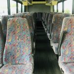 International 3200 33 passenger charter shuttle coach bus for sale - Diesel 12