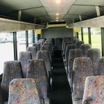 International 3200 33 passenger charter shuttle coach bus for sale - Diesel 13