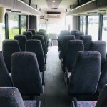 International 3200 33 passenger charter shuttle coach bus for sale - Diesel 14