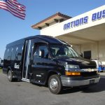 GM G4500 13 passenger charter shuttle coach bus for sale - Gas 1