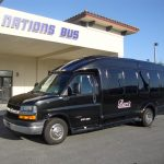 GM G4500 13 passenger charter shuttle coach bus for sale - Gas 3