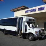 Ford E450 21 passenger charter shuttle coach bus for sale - Gas 1