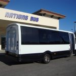 Ford E450 21 passenger charter shuttle coach bus for sale - Gas 4