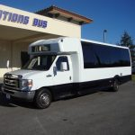 Ford E450 21 passenger charter shuttle coach bus for sale - Gas 3